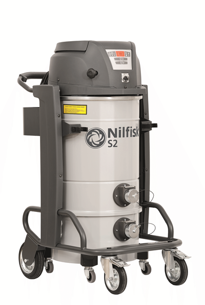 Product, Vacuum cleaners, Industrial vacuum cleaners, Single-phase wet and dry, Nilfisk, S2 L40 FN