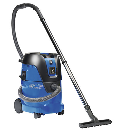 Product, Carpet Cleaning, Industrial vacuum cleaners, Single-phase wet & dry, Nilfisk, AERO 26-21 PC 120V/60HZ