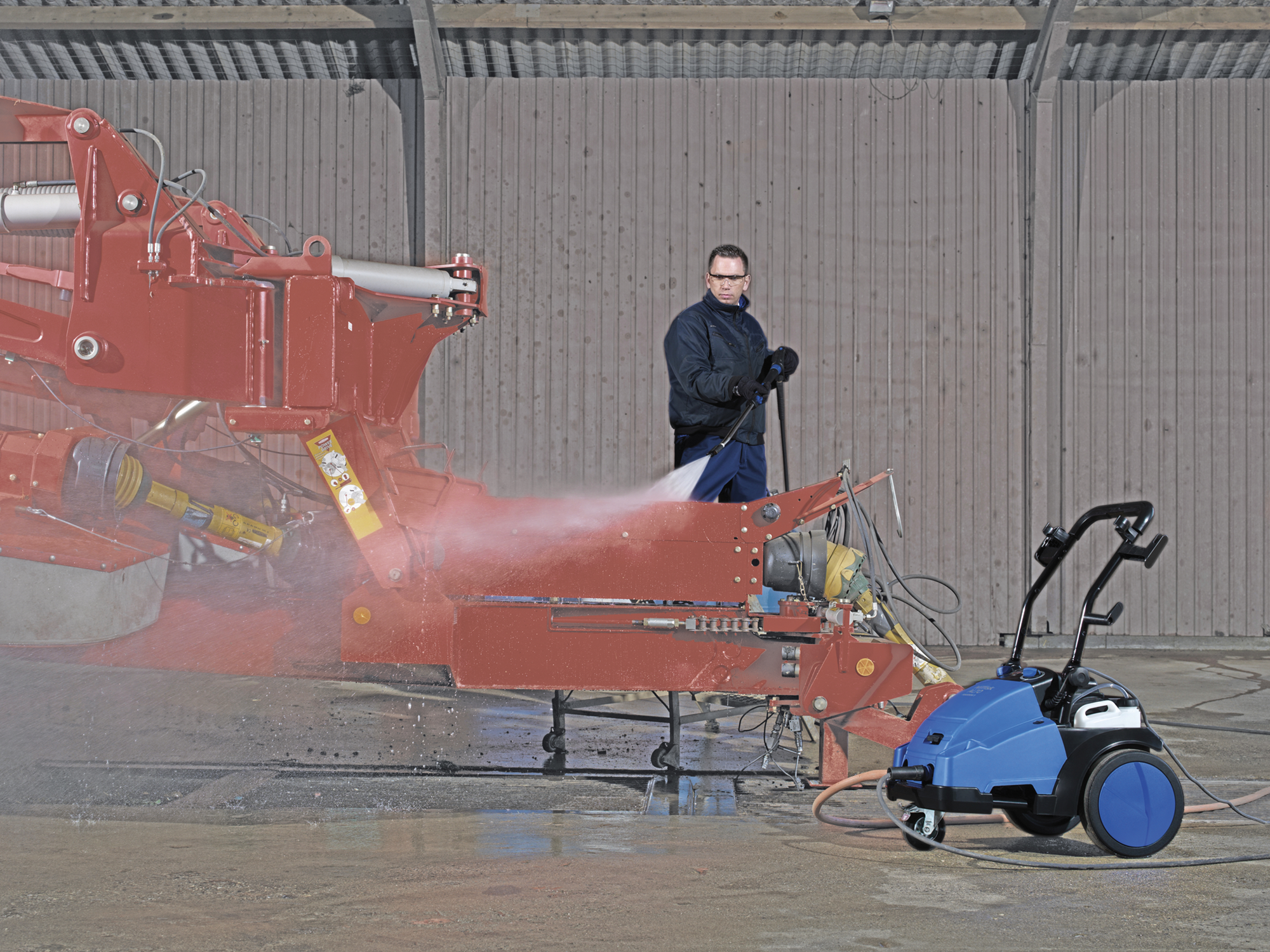 Product, Pressure washers, Mobile pressure washers, Mobile cold water pressure washers, Medium, Nilfisk, MC 5M-200/1050 FA 400/3/50 EU