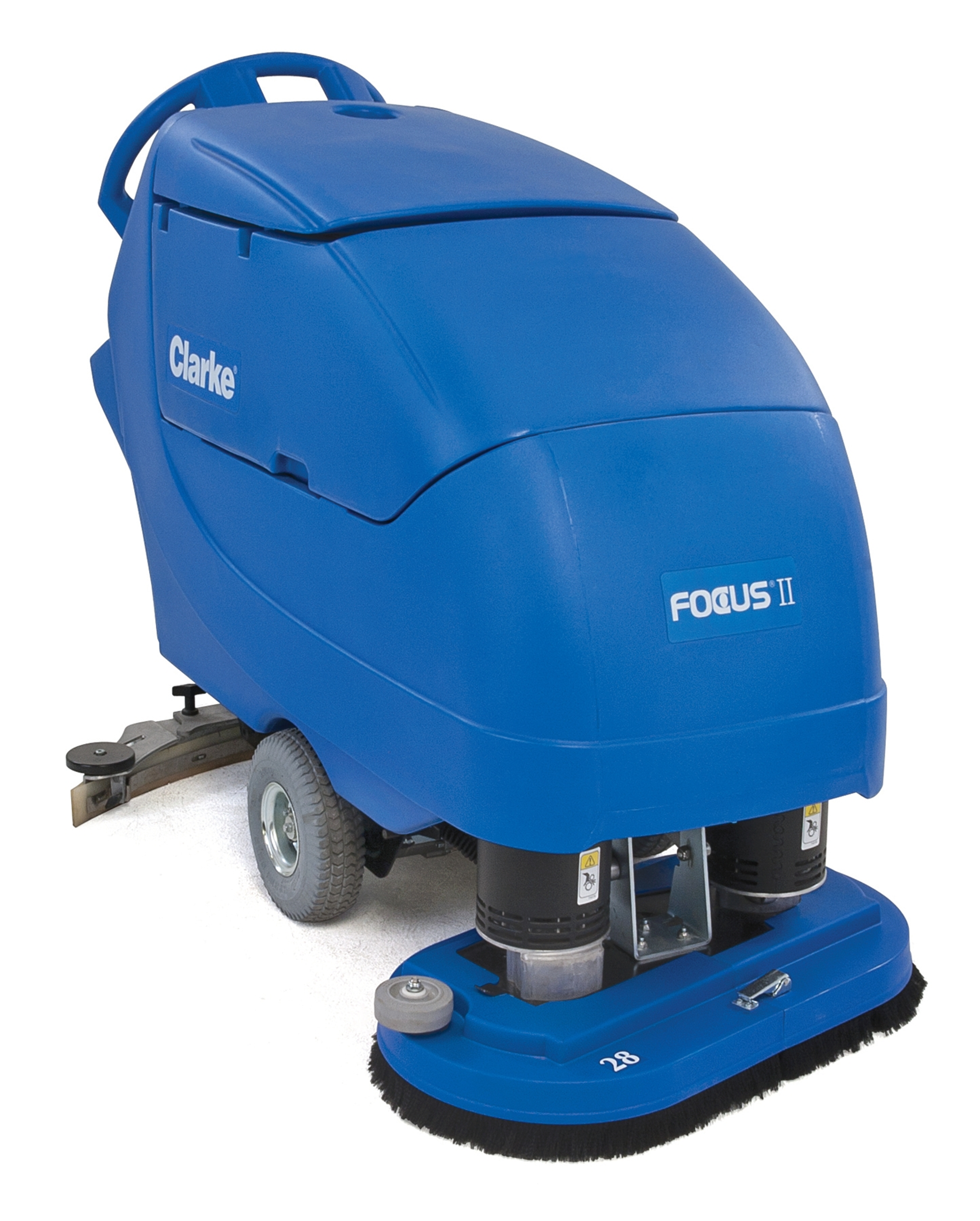 Product, Floor Cleaning, Scrubbers, Walk-behind Scrubbers, Large, Nilfisk, FOCUS II BOOST28 242AH CHEM
