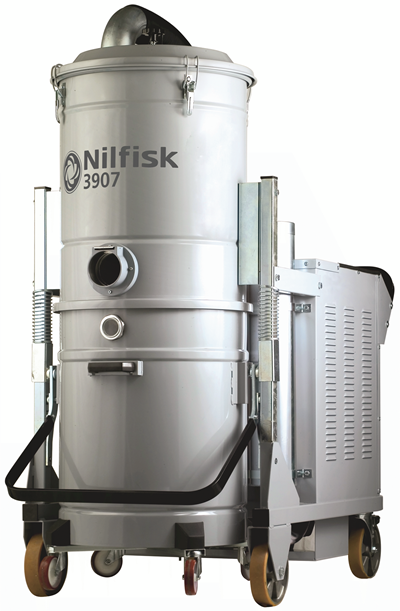 Product, Carpet Cleaning, Industrial vacuum cleaners, Three-phase wet & dry, Nilfisk, 3907N4A