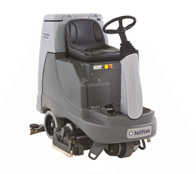 Product, Floor cleaning, Scrubber dryers, Stand-on and ride-on scrubber dryers, Nilfisk, NILFISK BR855