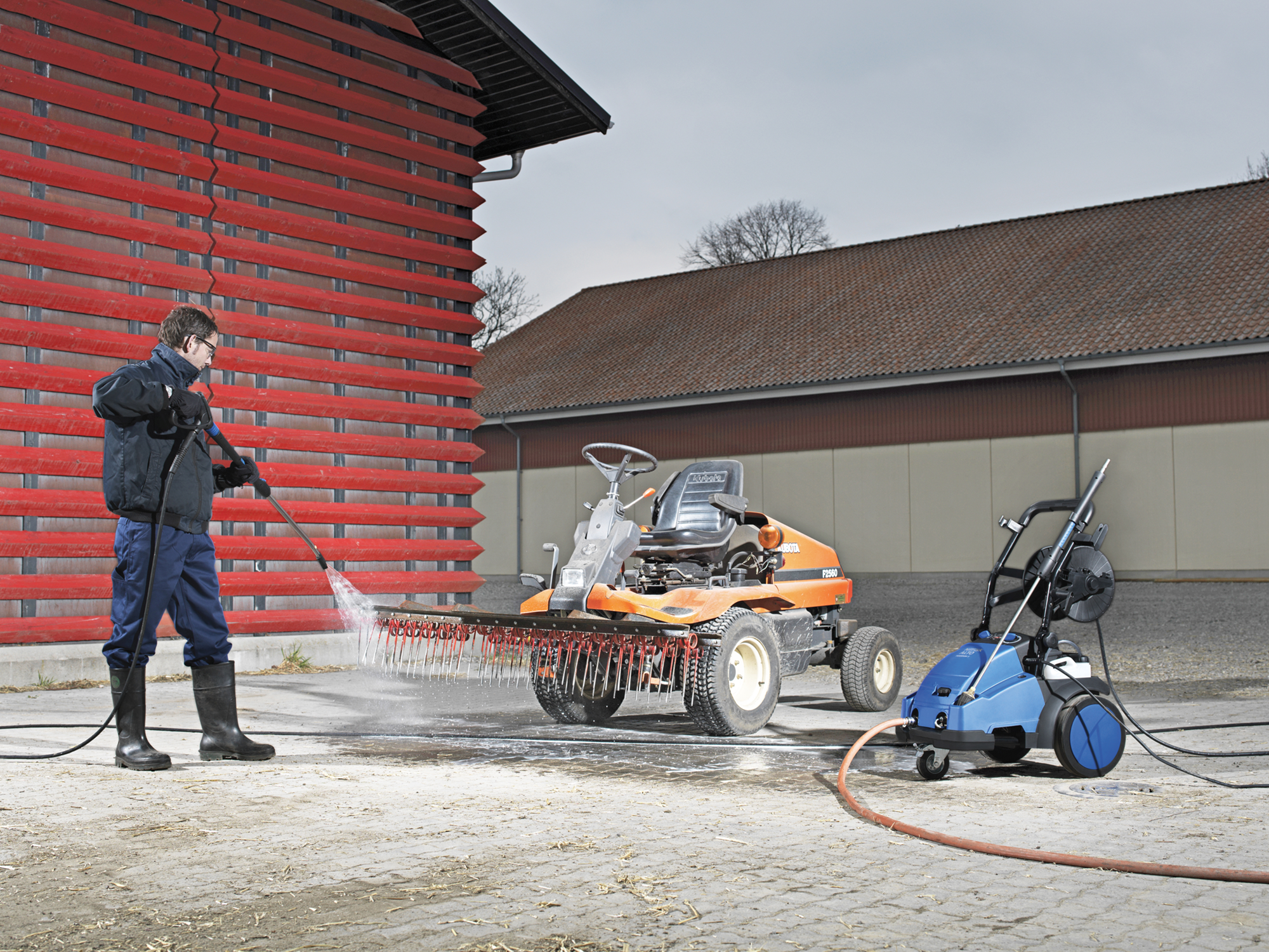 Product, Pressure washers, Mobile pressure washers, Mobile cold water pressure washers, Medium, Nilfisk, MC 5M-200/1050 400/3/50 EU