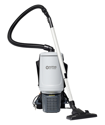 Product, Vacuum cleaners, Commercial vacuum cleaners, Dry vacuum cleaners, Nilfisk, GD10 BACK HEPA EU