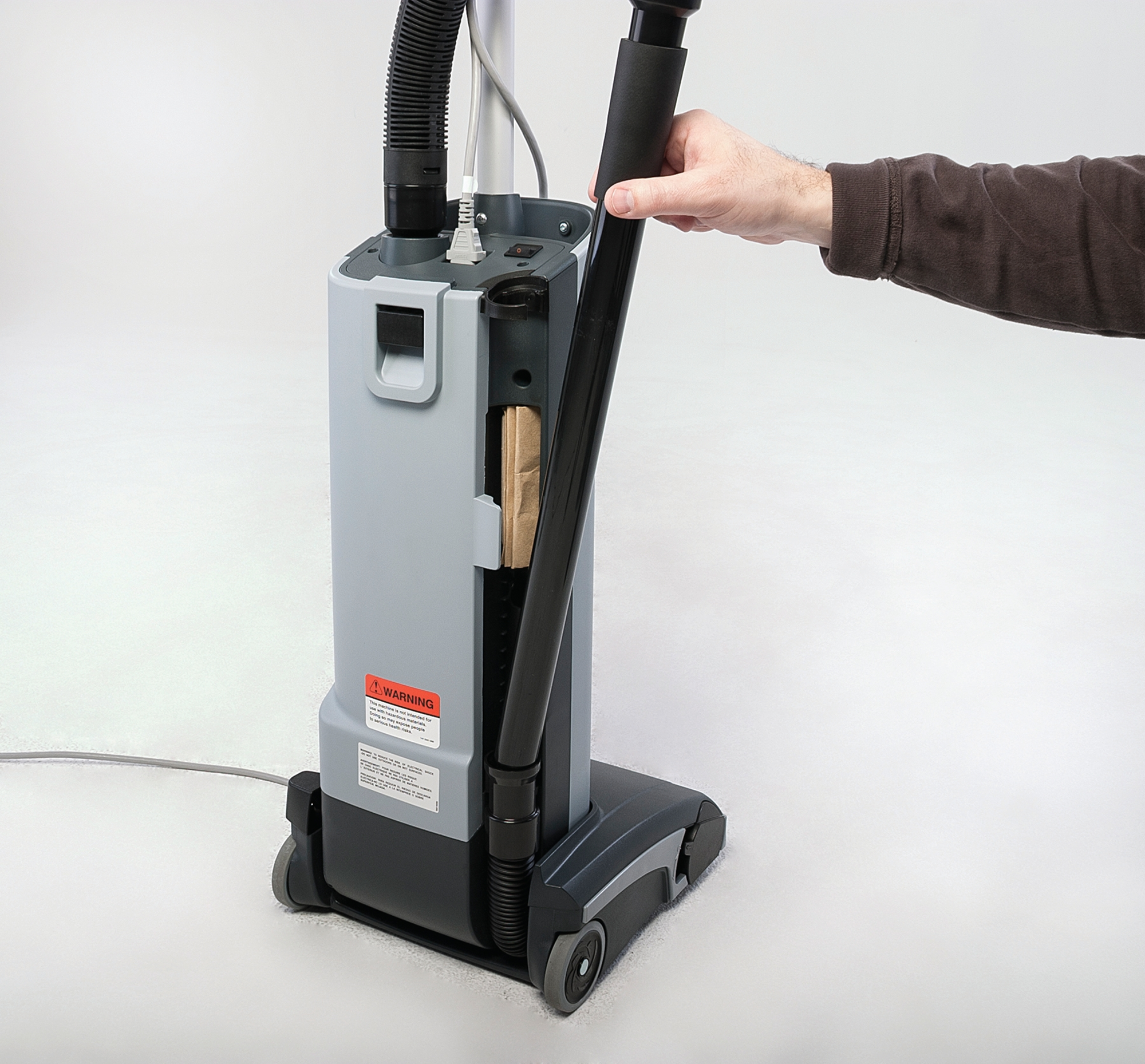 Product, Carpet Cleaning, Commercial Vacuum Cleaners, Upright Vacuum Cleaners, Nilfisk, VU500 12INCH UPRIGHT VAC US