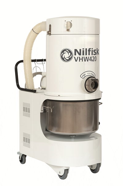Product, Vacuum cleaners, Industrial vacuum cleaners, Food, pharma and OEM, Nilfisk, VHW420