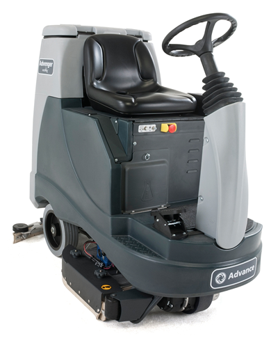 Product, Floor cleaning, Scrubber dryers, Stand-on/ride-on scrubber dryers, Nilfisk, Advenger x2805 305 sc ph