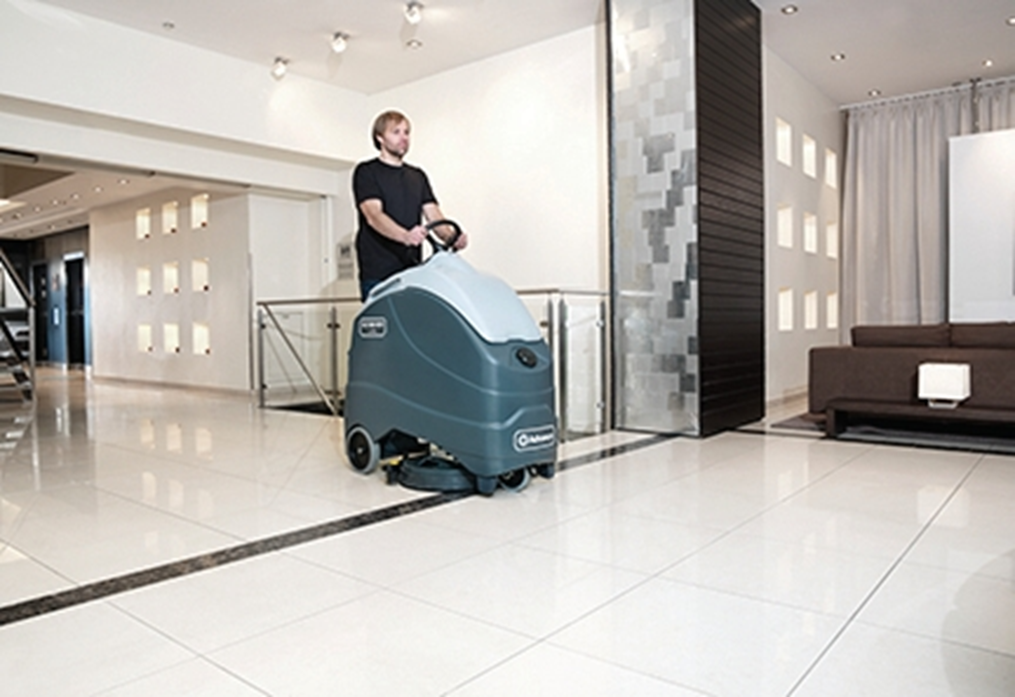Product, Floor cleaning, Scrubber dryers, Stand-on and ride-on scrubber dryers, Nilfisk, SC1500