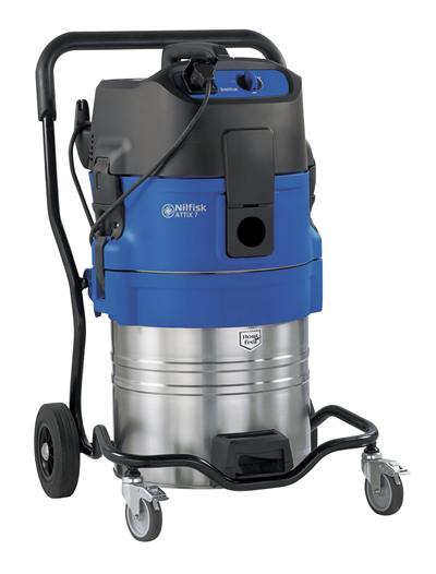 Product, Vacuum cleaners, Industrial vacuum cleaners, Single-phase wet & dry, Nilfisk, ATTIX 751-61 PUMP - OUT