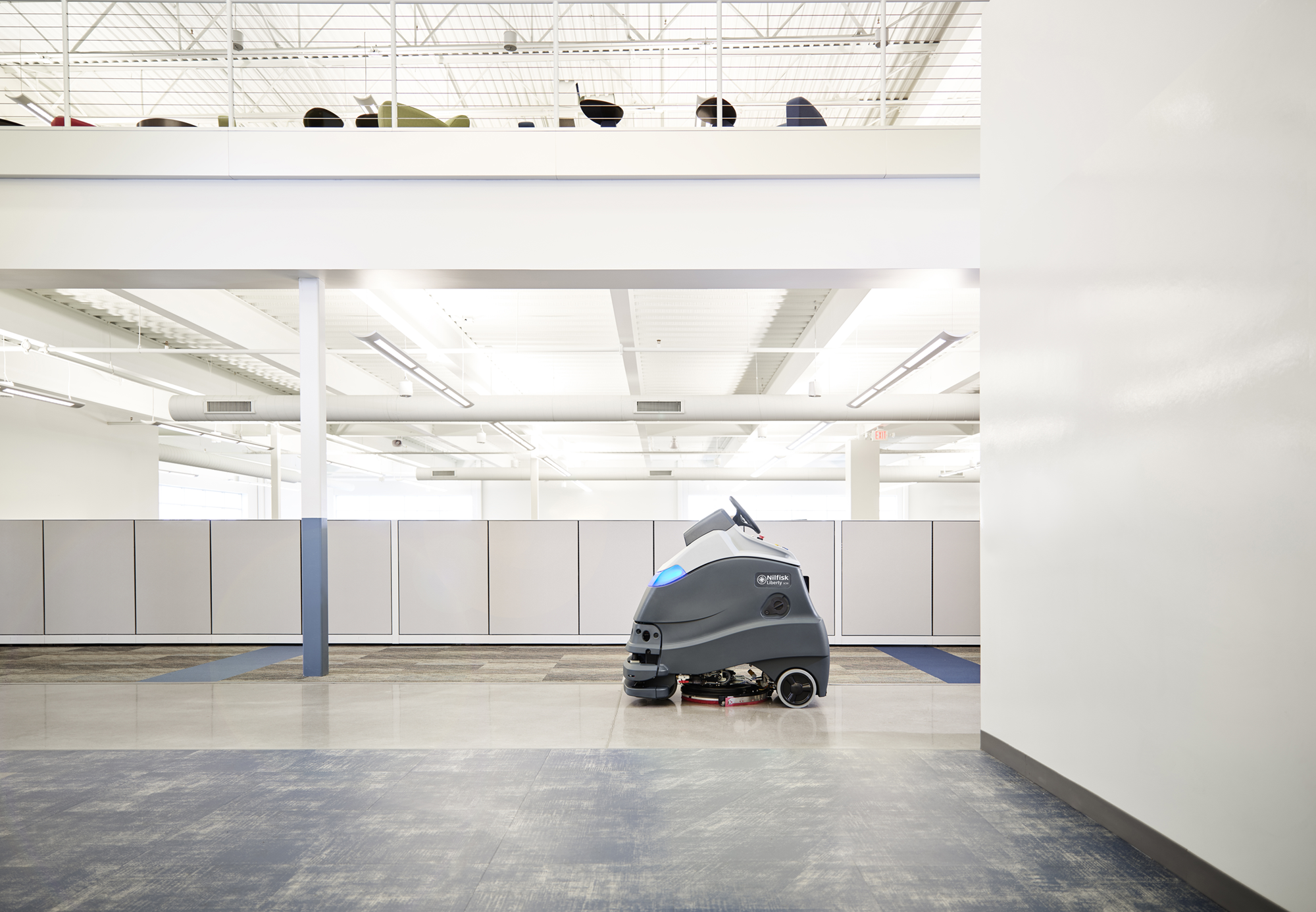 Product, Floor Cleaning, Autonomous floor cleaning, Nilfisk, LIBERTY SC50 X20R A255 OBC PH