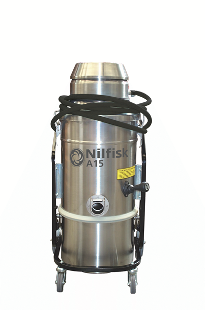 Product, Vacuum cleaners, Industrial vacuum cleaners, Compressed air, Nilfisk, A15 D XX