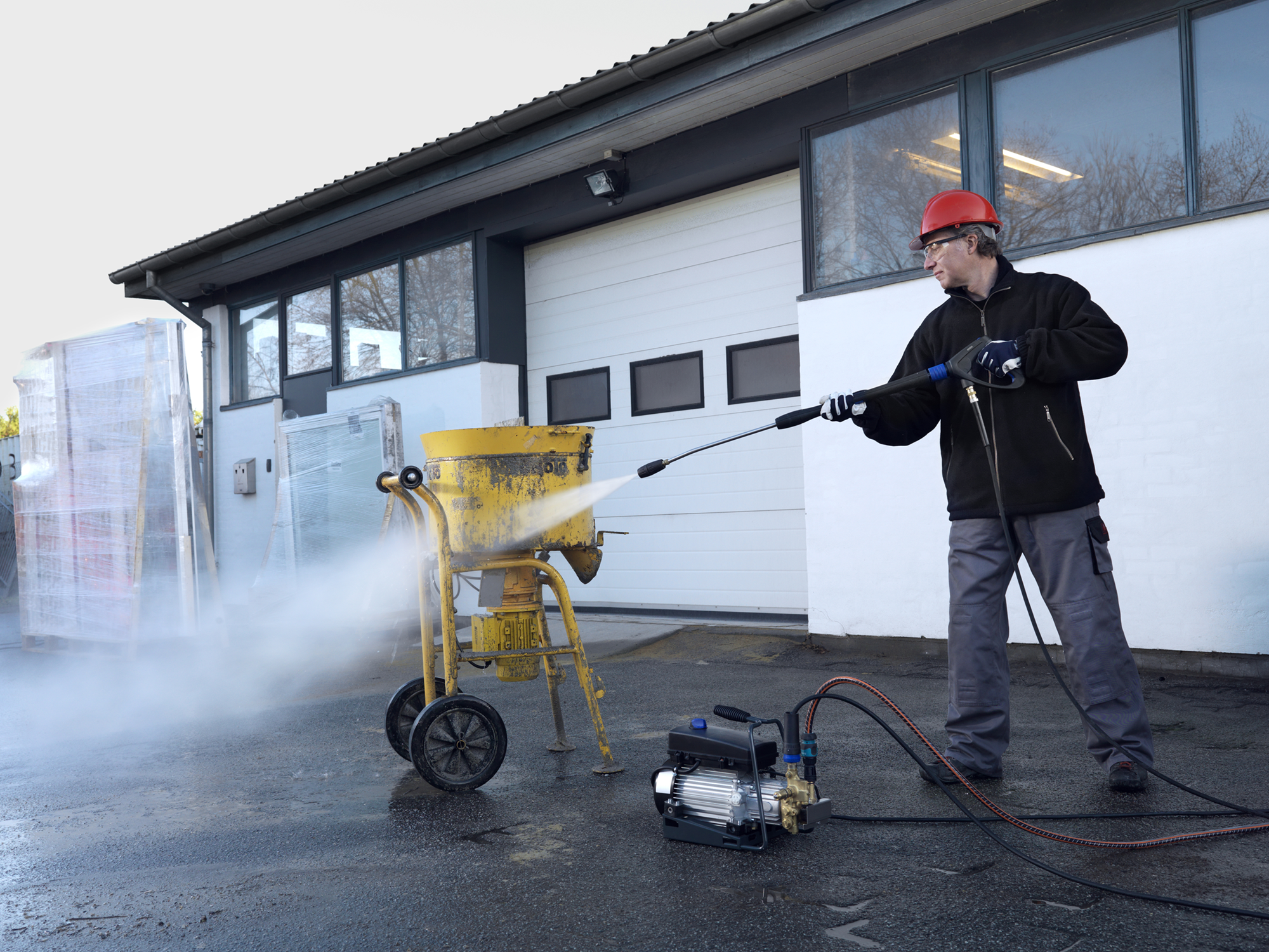 Product, Pressure Cleaners, Stationary pressure cleaners, Stationary cold water pressure washers, Nilfisk, SC UNO 4M-140/620 PS EU