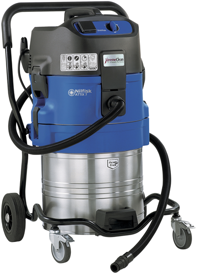 Product, Vacuum cleaners, Industrial vacuum cleaners, Single-phase wet & dry, Nilfisk, Attix 761-21 XC