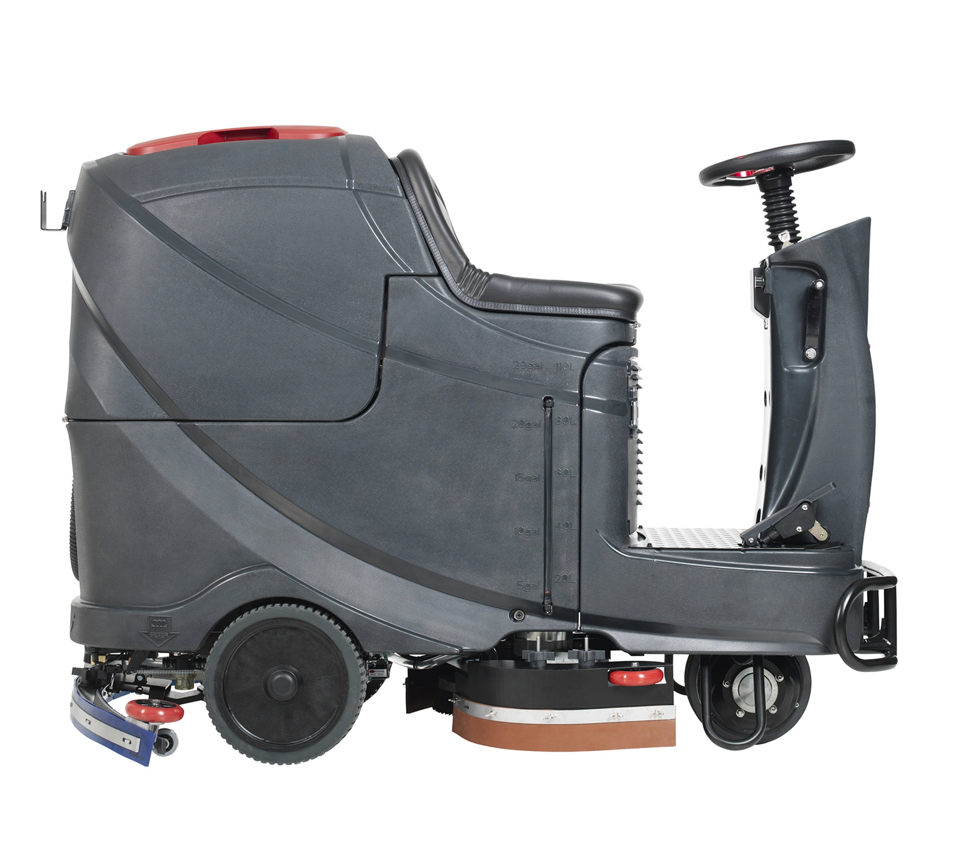 Product, Floor Cleaning, Scrubbers, Rider Scrubbers, Nilfisk, AS710R-US 28D A245 OBC PH