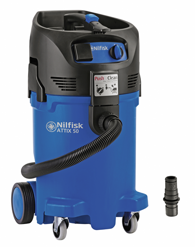 Product, Vacuum cleaners, Industrial vacuum cleaners, Single phase wet dry, Nilfisk, ATTIX 50-01 PC