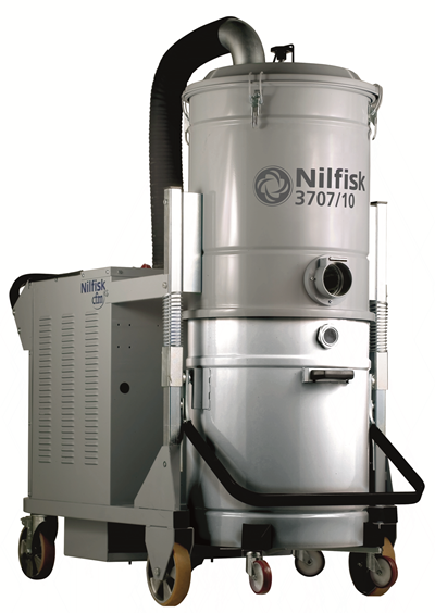 Product, Vacuum cleaners, Industrial vacuum cleaners, Three phase wet dry, Nilfisk, 3707/10 SE FM