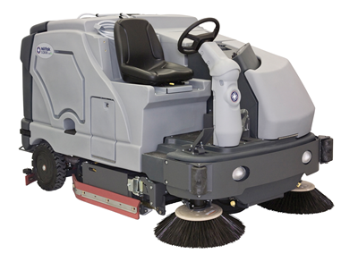 Product, Floor cleaning, Scrubber dryers, Stand-on and ride-on scrubber dryers, Nilfisk, SC8000 1300 LPG