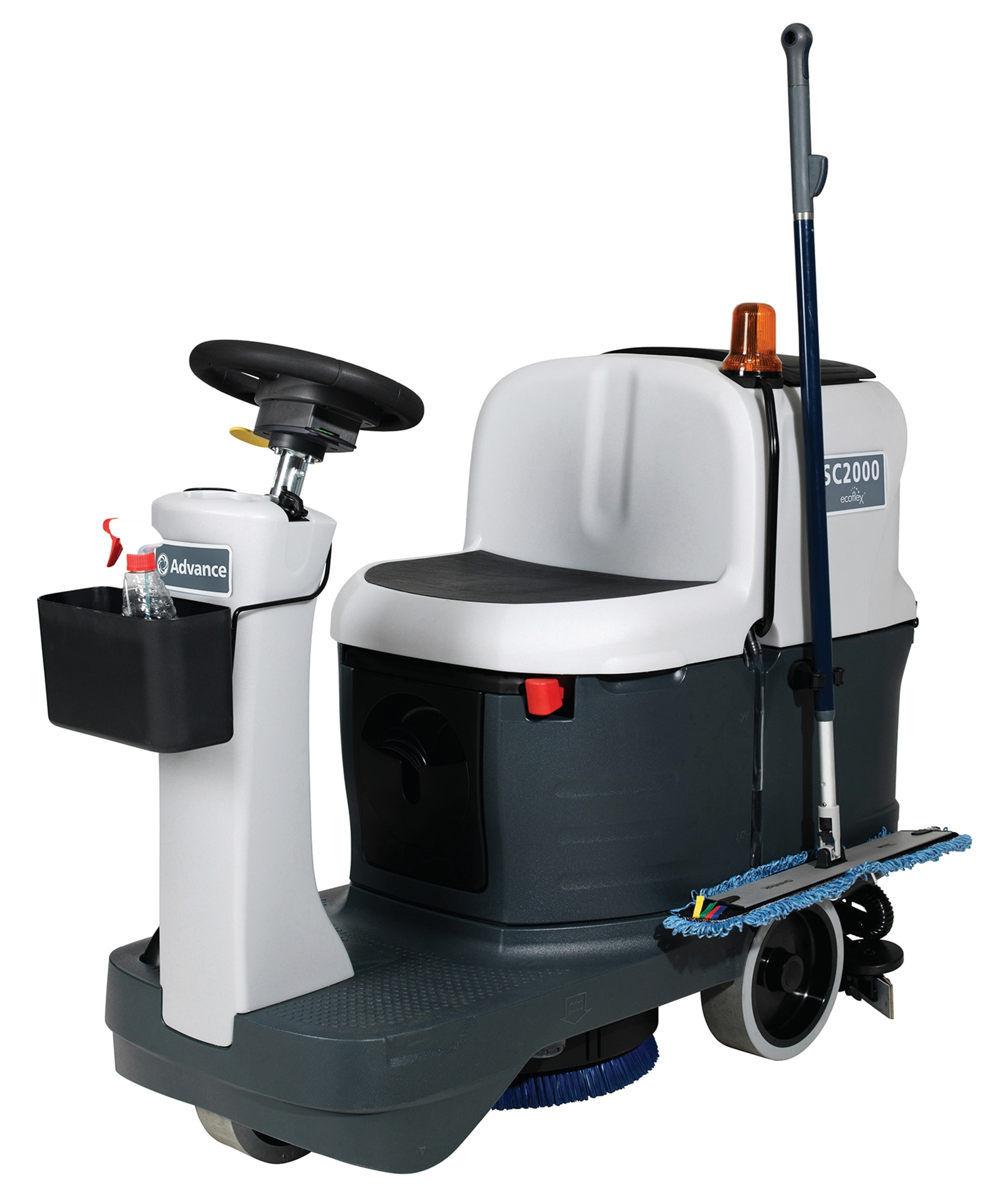 Product, Floor Cleaning, Scrubbers, Rider Scrubbers, Nilfisk, SC2000 20D ECOFLEX W130 OBC PH