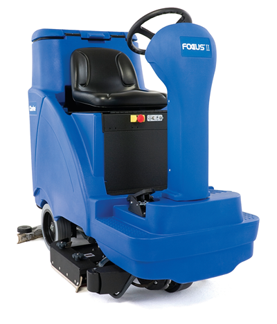 Product, Floor cleaning, Scrubber dryers, Stand-on and ride-on scrubber dryers, Nilfisk, FOCUS II R 28B CH W420 SC PH