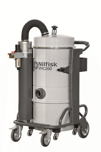 Product, Vacuum cleaners, Industrial vacuum cleaners, Compressed air, Nilfisk, VHC200 L100