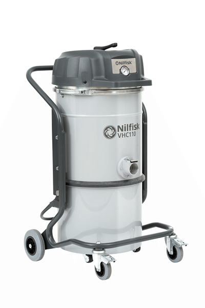 Product, Vacuum cleaners, Industrial vacuum cleaners, Compressed air, Nilfisk, VHC110