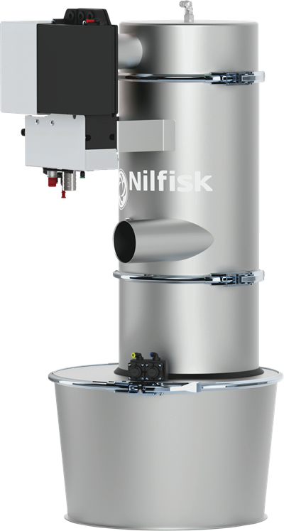 Product, Vacuum cleaners, Industrial vacuum cleaners, Pneumatic conveyors, Nilfisk, PCC44SF00 D63