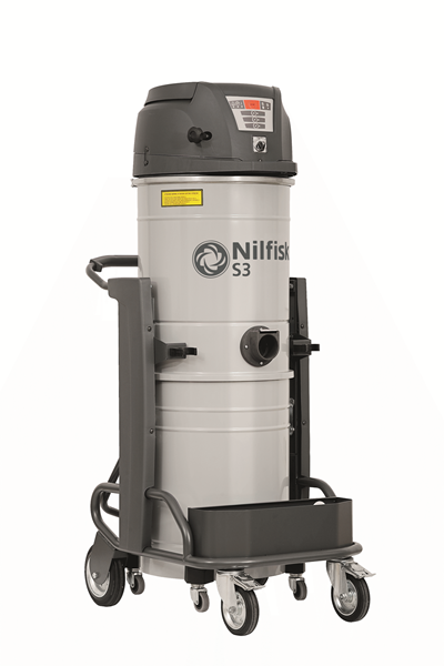 Product, Carpet Cleaning, Industrial vacuum cleaners, Single-phase wet & dry, Nilfisk, S3/100N1A