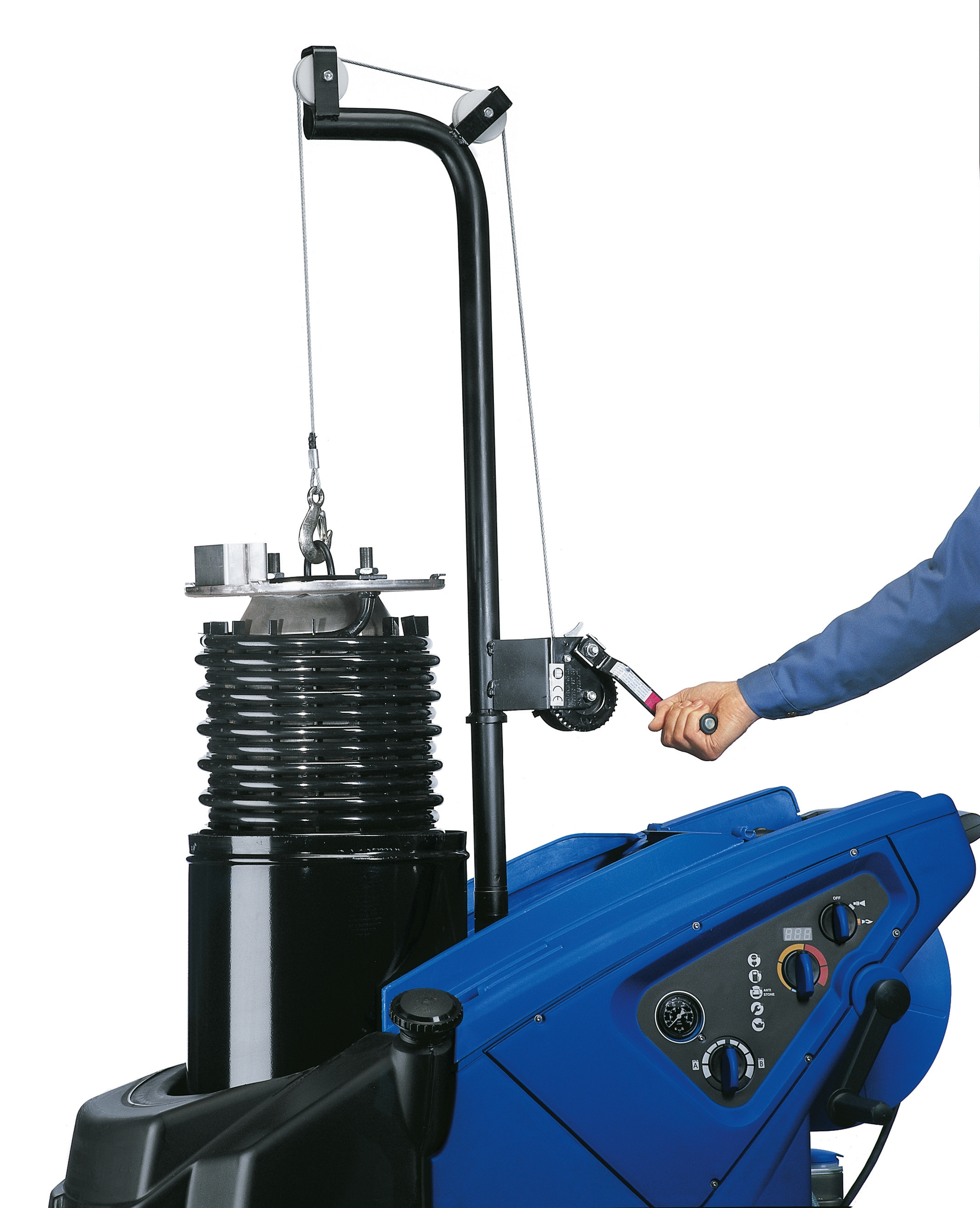 Product, Pressure Cleaners, Mobile pressure cleaners, Mobile hot water pressure washers, Premium, Nilfisk, MH 8P-180/2000