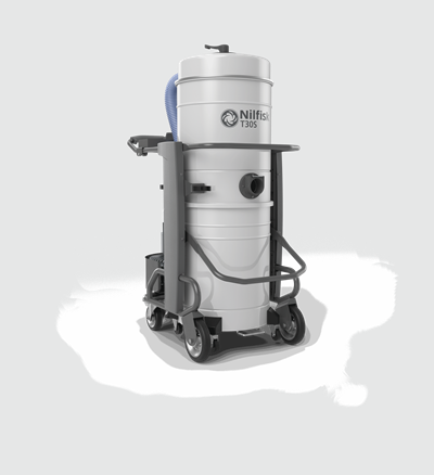 Product, Vacuum cleaners, Industrial vacuum cleaners, Three-phase wet and dry, Nilfisk, T30S L100