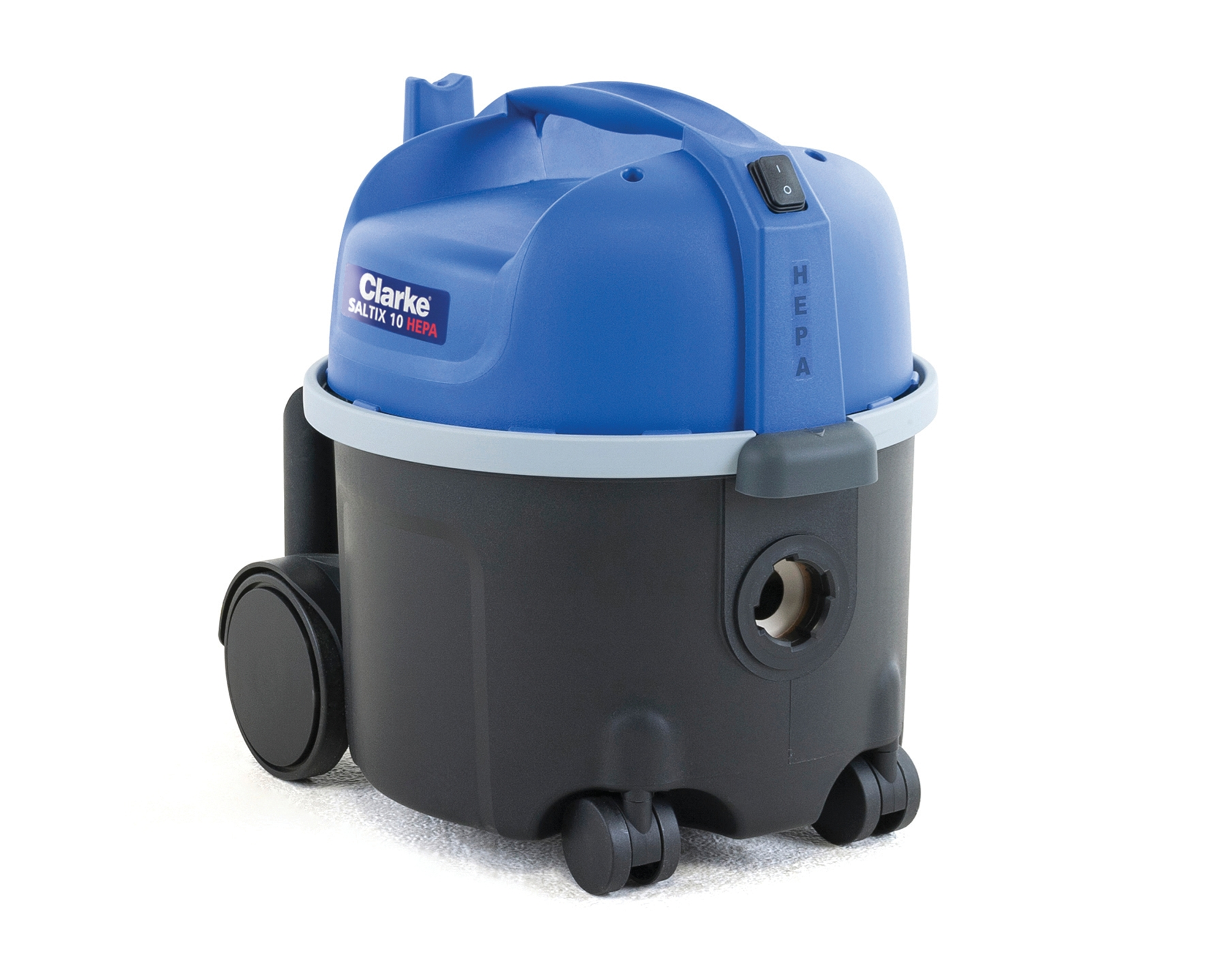 Product, Vacuum cleaners, Commercial vacuum cleaners, Dry vacuum cleaners, Nilfisk, CLARKE SALTIX 10 HEPA