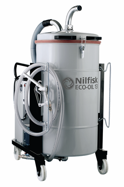 Product, Vacuum cleaners, Industrial vacuum cleaners, Oil and swarf, Nilfisk, ECO-OIL 13
