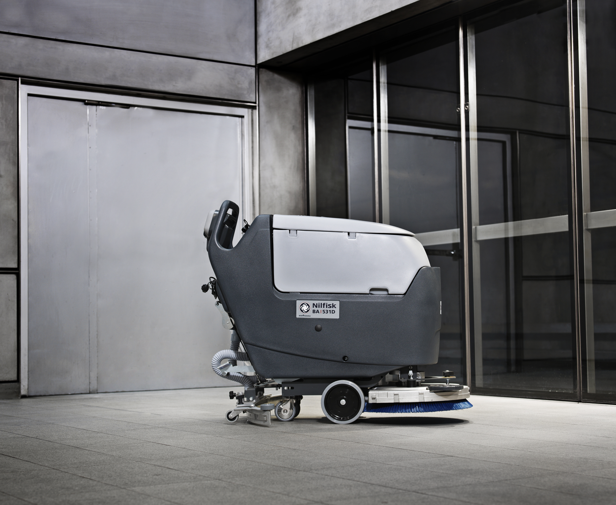 Product, Floor cleaning, Scrubber dryers, Walk-behind scrubber dryers, Medium walk-behind scrubber dryers, Nilfisk, SCRUBBER CA 451
