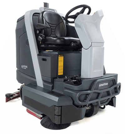 Product, Floor cleaning, Scrubber dryers, Stand-on and ride-on scrubber dryers, Nilfisk, SC6000 910C