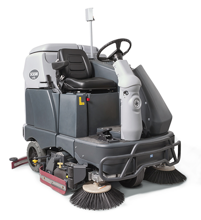 Product, Floor cleaning, Scrubber dryers, Stand-on and ride-on scrubber dryers, Nilfisk, SC6500 1100C