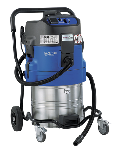 Product, Vacuum cleaners, Industrial vacuum cleaners, Health and safety wet & dry, Nilfisk, ATTIX 761-2M XC 230/50 EU