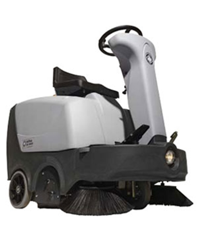 Product, Floor cleaning, Sweepers, Ride-on sweepers, Nilfisk, SWEEPER SR 1000S B W/LT SIDE BROOM