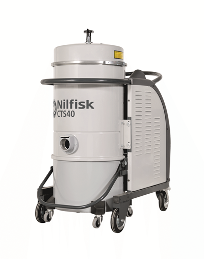 Product, Vacuum cleaners, Industrial vacuum cleaners, Hazardous dust, Three-phase, Nilfisk, CTS40 HC