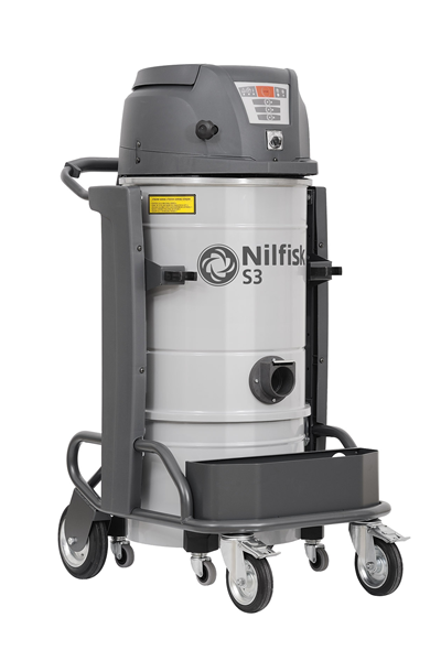Product, Vacuum cleaners, Industrial vacuum cleaners, Single-phase wet & dry, Nilfisk, S3 L50 LC L GV CC