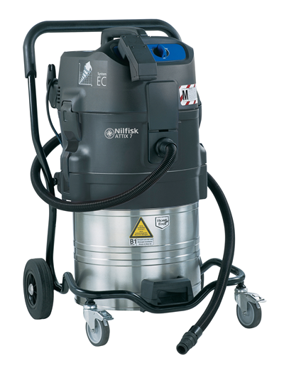 Product, Vacuum cleaners (1), Industrial vacuum cleaners, Health and safety wet dry, Nilfisk, ATTIX 791-2M/B1 230/1/50 EU