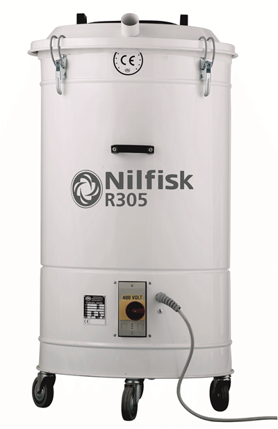Product, Vacuum cleaners, Industrial vacuum cleaners, Packaging and trims, Nilfisk, R305 V