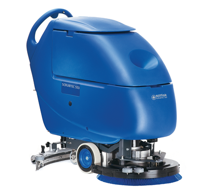 Product, Floor cleaning, Scrubber dryers, Walk-behind scrubber and dryers, Medium, Nilfisk, Scrubtec 553