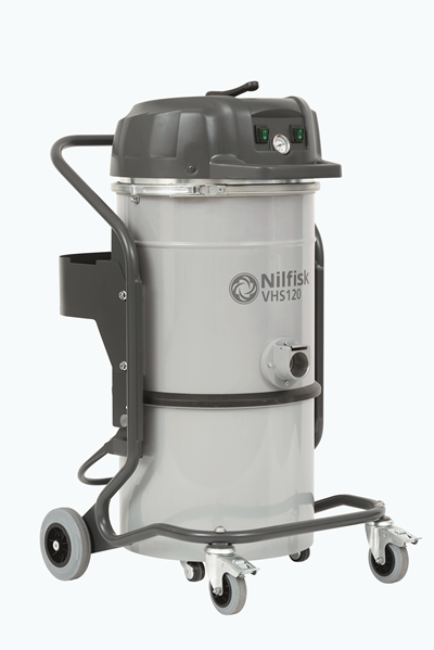Product, Vacuum cleaners, Industrial vacuum cleaners, Single-phase wet and dry, Nilfisk, VHS120