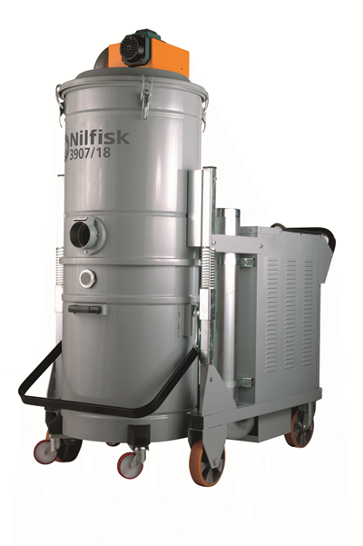Product, Vacuum cleaners, Industrial vacuum cleaners, Explosion-proof, Three-phase, Nilfisk, 3907W Z21