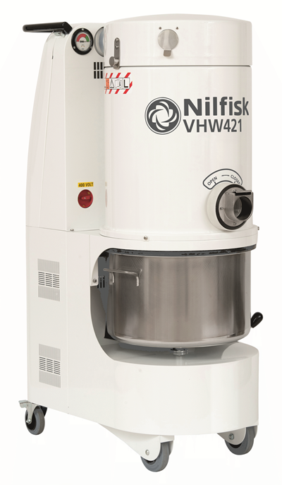 Product, Carpet Cleaning, Industrial vacuum cleaners, Food, pharma and OEM, Nilfisk, VHW421N2A