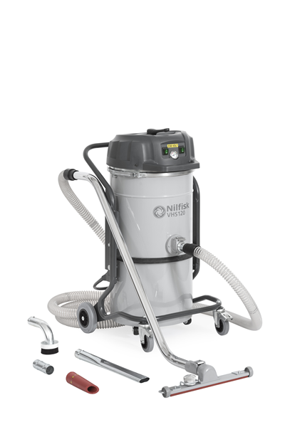 Product, Vacuum cleaners, Industrial vacuum cleaners, Single-phase wet and dry, Nilfisk, VHS120 All-In-One #General Cleaning