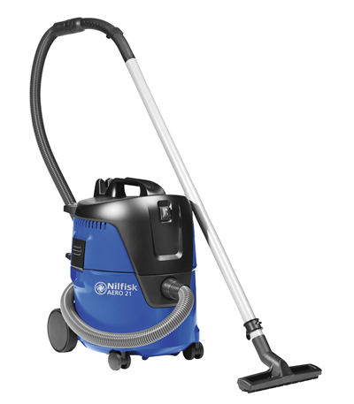 Product, Vacuum cleaners, Industrial vacuum cleaners, Single-phase wet & dry, Nilfisk, Aero 21-01