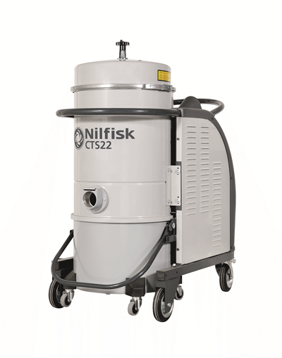 Product, Vacuum cleaners, Industrial vacuum cleaners, Three-phase wet and dry, Nilfisk, CTS22