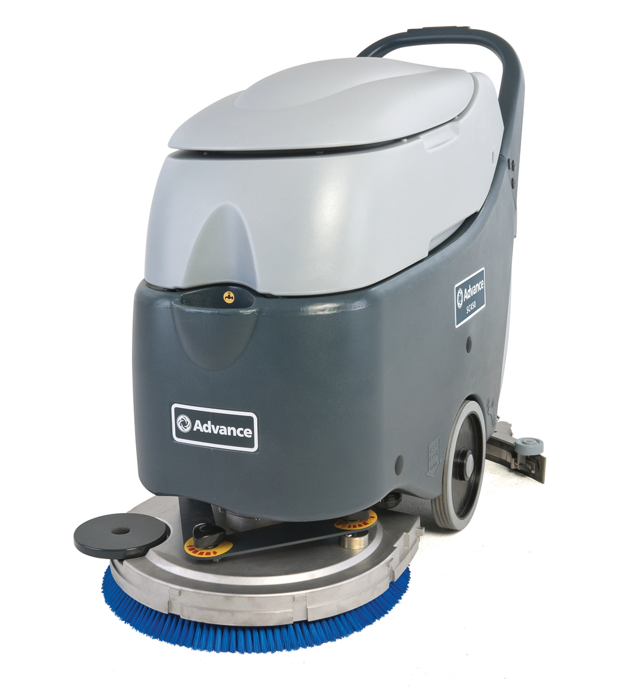 Product, Floor cleaning, Scrubber dryers, Walk-behind scrubber and dryers, Medium walk-behind scrubber and dryers, Nilfisk, SC450 20D W105 OBC PH SS
