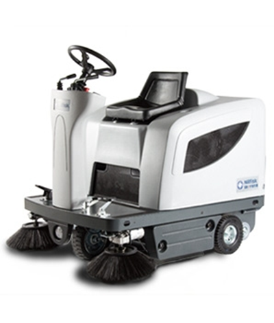 Product, Floor cleaning, Sweepers, Ride-on sweepers, Nilfisk, SWEEPER SR 1101 B