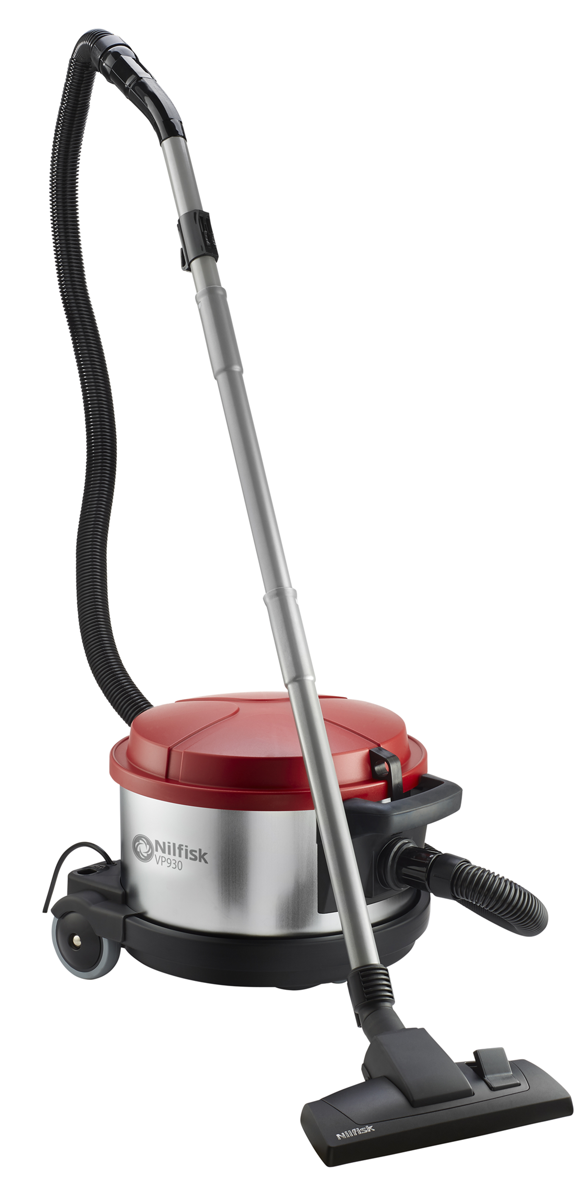 Product, Products, Vacuum Cleaners, Traditional, Nilfisk, VP930 230V EU RED/ SILVER